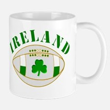 Ireland style rugby ball Mugs
