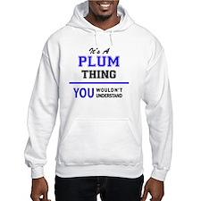 Plum Hoodie
