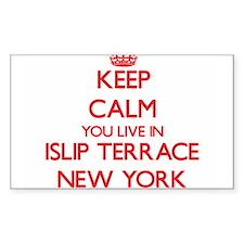 Keep calm you live in Islip Terrace New Yo Decal