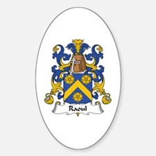 Raoul Oval Decal