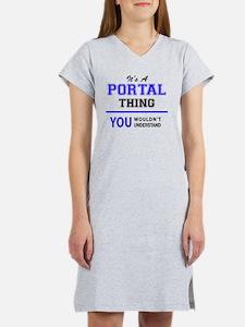 Cute Portal Women's Nightshirt