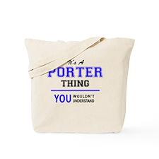 Unique Porter Tote Bag