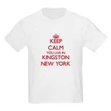 Keep calm you live in Kingston New York T-Shirt