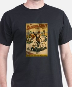 BARNUM AND BAILEY BICYCLE dark t-shirt