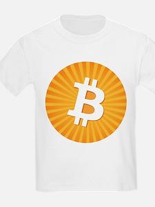 Bitcoin Logo Starburst T-Shirt