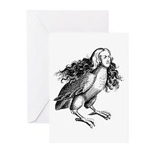 Greek Harpy Greeting Cards (Pk of 10)