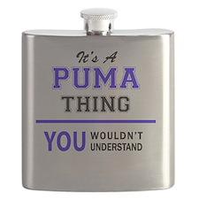 Cute Puma Flask