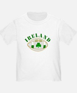Ireland style rugby ball T-Shirt