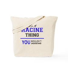 Cute Racine Tote Bag
