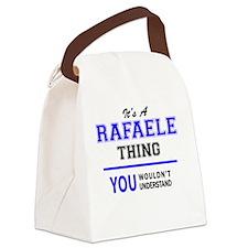 Unique Rafael Canvas Lunch Bag