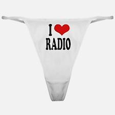 I Love Radio Classic Thong