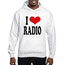 I Love Radio Hoodie