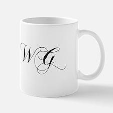 WG-cho black Mugs