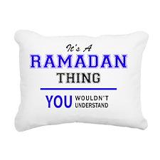 Unique Ramadan Rectangular Canvas Pillow