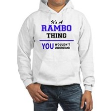Unique Rambo Jumper Hoody