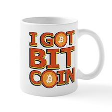 I Got Bitcoin Large Text Mugs