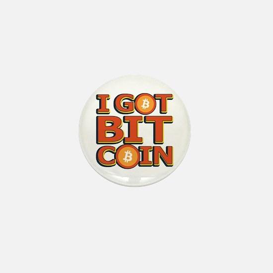I Got Bitcoin Large Text Mini Button