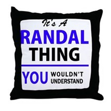 Cool Randall Throw Pillow