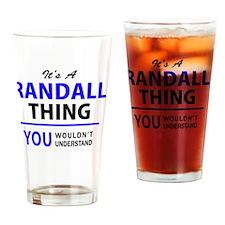 Cute Randall Drinking Glass
