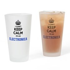 Cool Electronica Drinking Glass