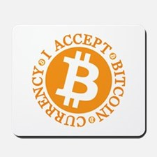 Type 2 I Accept Bitcoin Mousepad