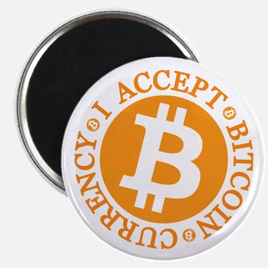 Type 2 I Accept Bitcoin Magnets