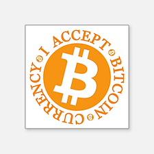 Type 2 I Accept Bitcoin Sticker