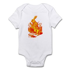 White Rabbit Infant Bodysuit