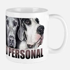 Great Dane Up Close Not RED Mug