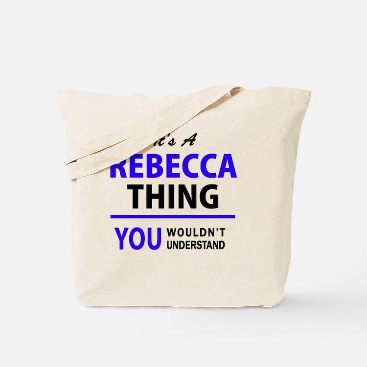 Cute Rebecca Tote Bag
