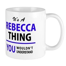 Unique Rebecca Mug