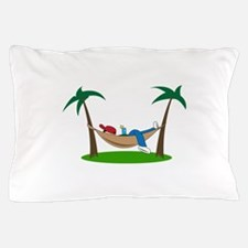 PALMS AND HAMMOCK Pillow Case