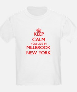 Keep calm you live in Millbrook New York T-Shirt