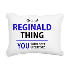 Cute Reginald Rectangular Canvas Pillow