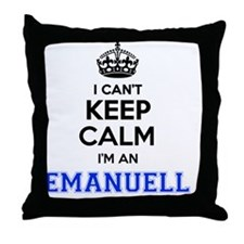 Unique Emanuel Throw Pillow