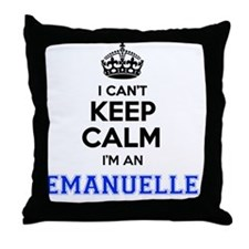 Cool Emanuel Throw Pillow