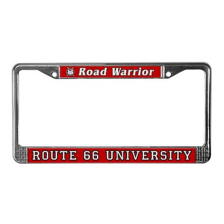 Road Warrior License Plate Frame