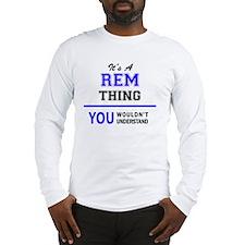 Unique Rem Long Sleeve T-Shirt