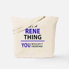 Unique Rene Tote Bag