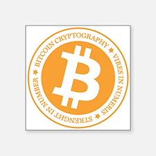 Type 1 Bitcoin Logo Sticker