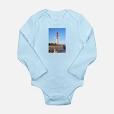 Long Beach Island - Ne Long Sleeve Infant Bodysuit