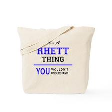 Unique Rhett Tote Bag