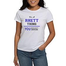 Funny Rhett Tee