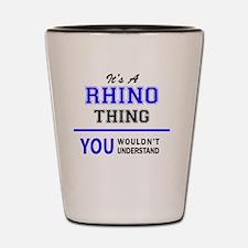 Cute Rhino Shot Glass
