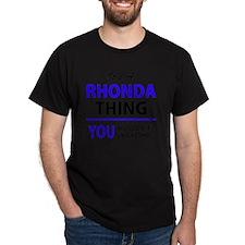 Funny Rhonda T-Shirt