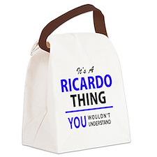 Unique Ricardo Canvas Lunch Bag