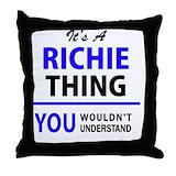 Richie Throw Pillows