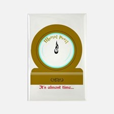 Molly's Clock Rectangle Magnet