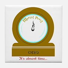 Molly's Clock Tile Coaster