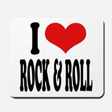 I Love Rock & Roll Mousepad